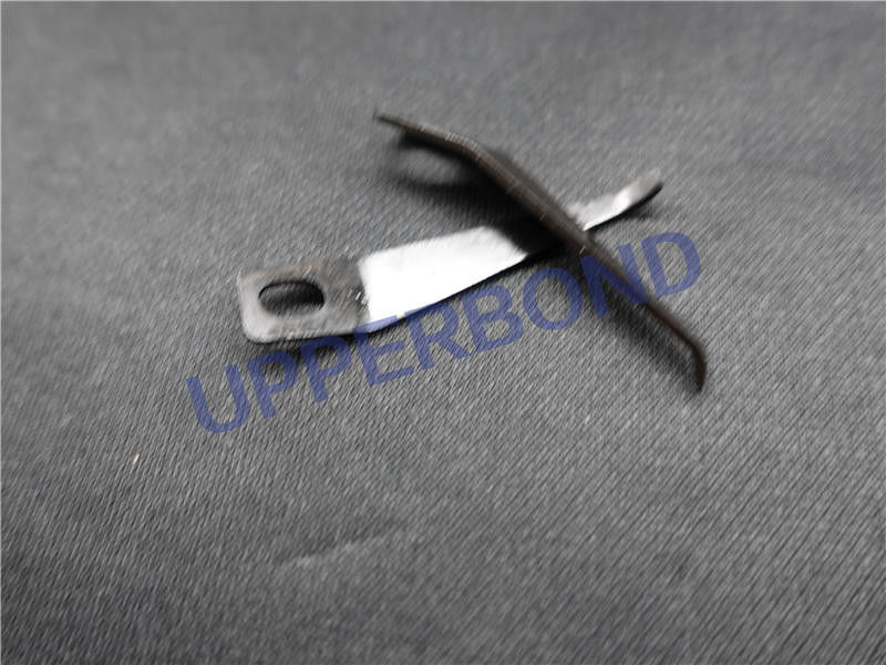 OEM Tobacco Machinery Spare Parts Clamping Jaw With Blacking Surface Treatment